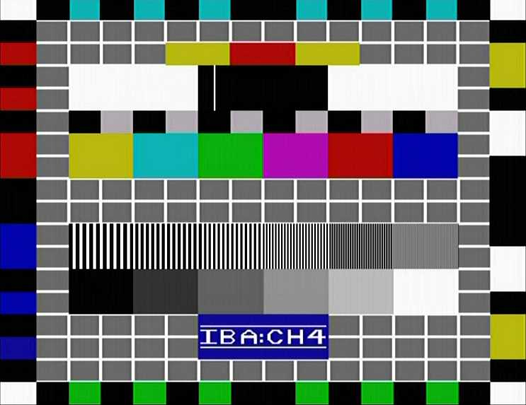 TCC - A Very Concise History of Test Cards